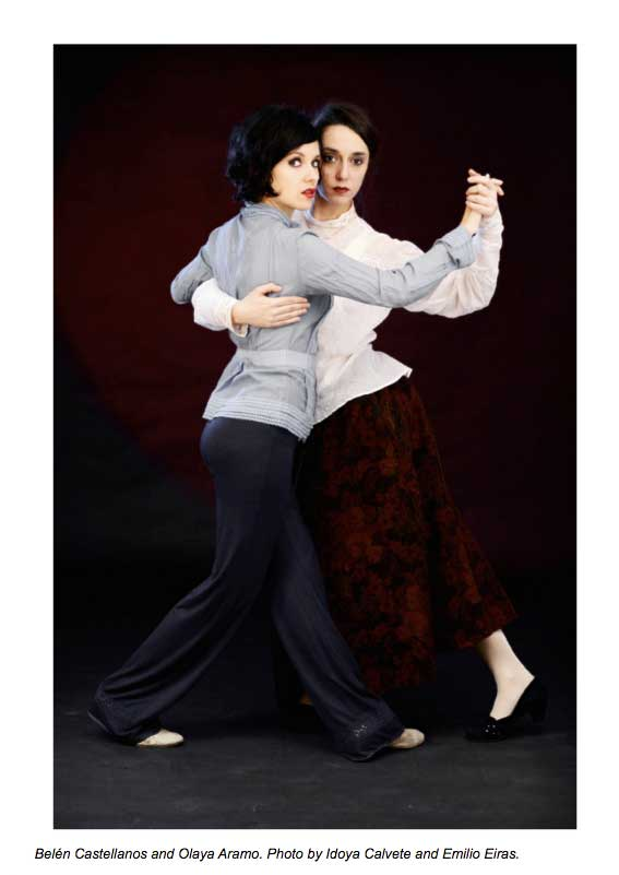 femmes dansant le tango
